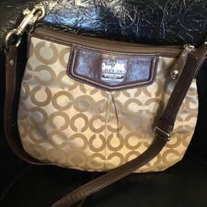 Small Coach cross body purse
